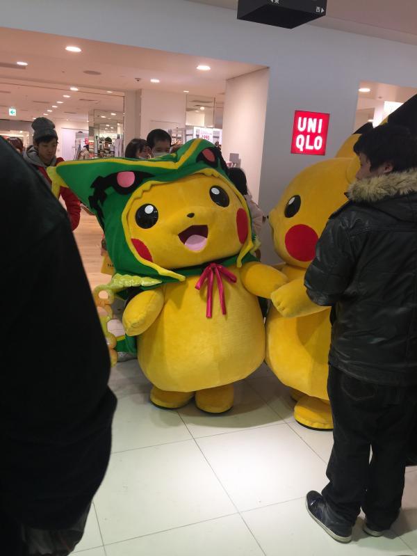 ポケモンセンター大会ピカチュウ